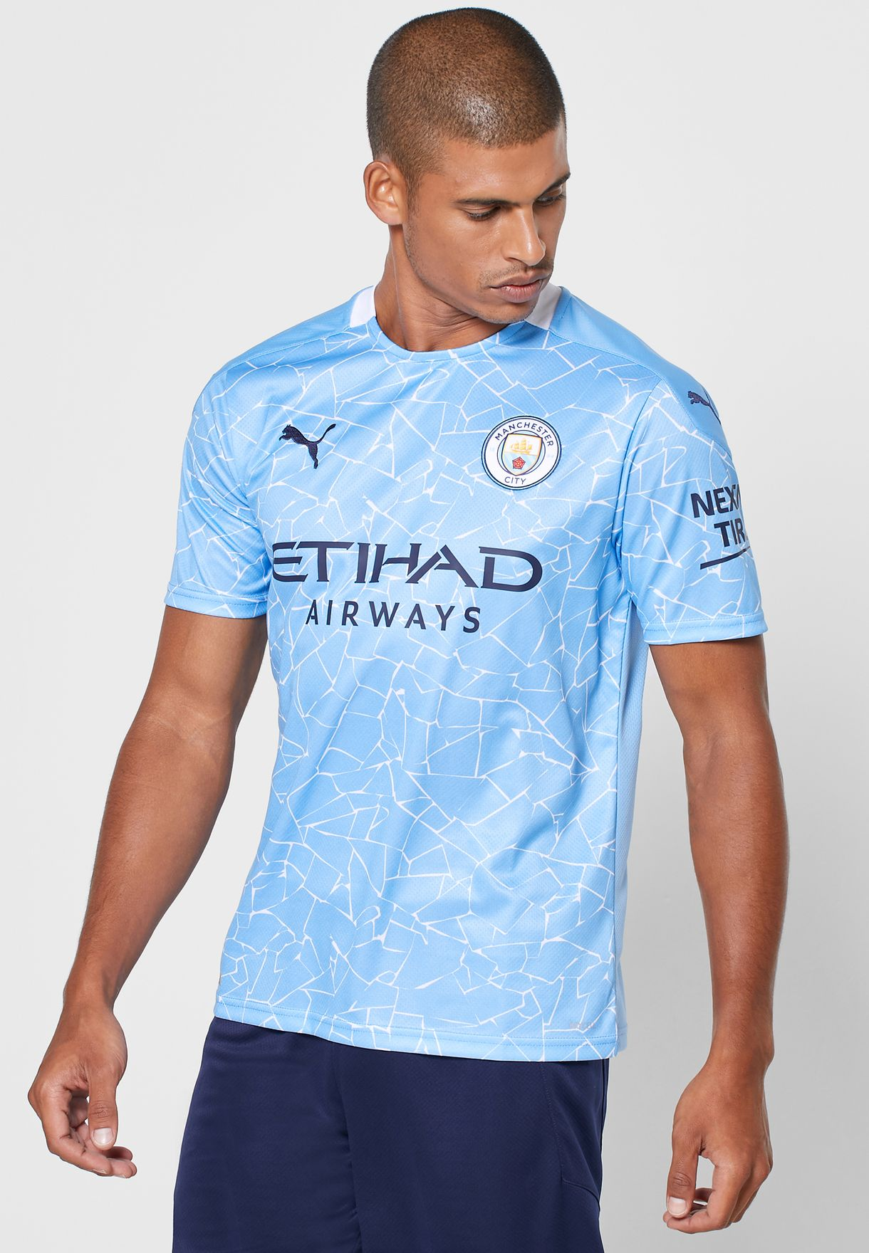 Manchester City Home Replica T-Shirt