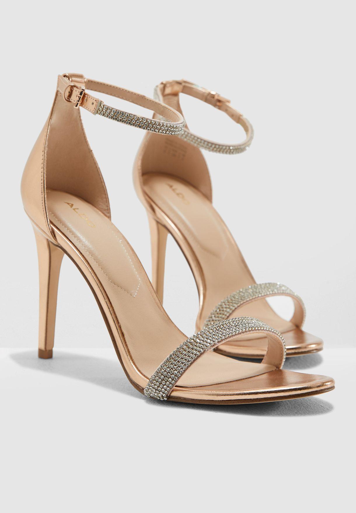 5899017e57 Shop Aldo rosegold Aroclya Sandal AROCLYA86 for Women in UAE ...