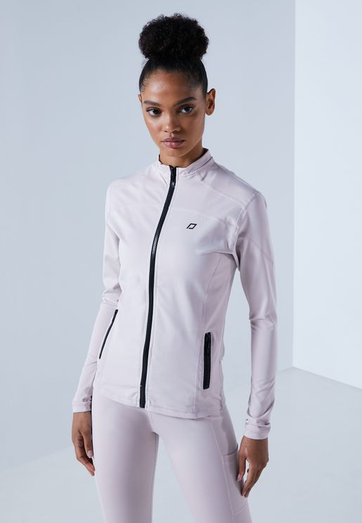 Zip Through Fitted Jacket