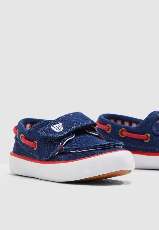 حذاء لوفر من الكانفاس