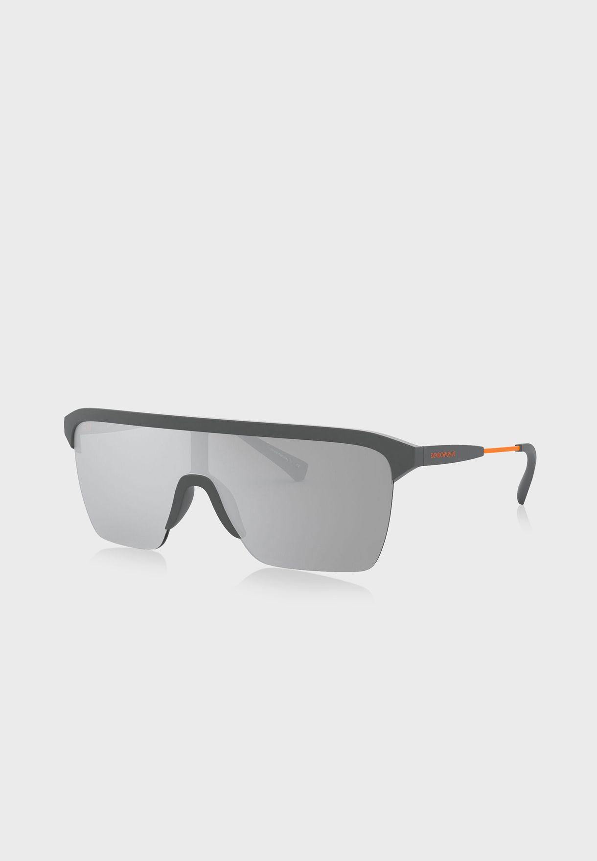 0EA4146 Shield Sunglasses