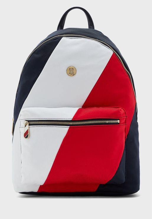Poppy Soft Stripe Backpack