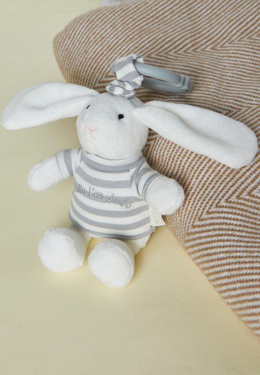 JoJo Bunny Jitter Toy