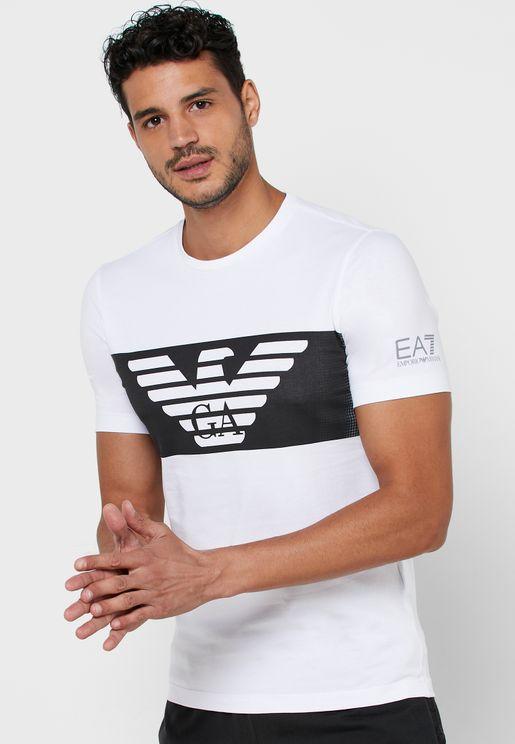 Train Grapic Series Crew Neck T-Shirt