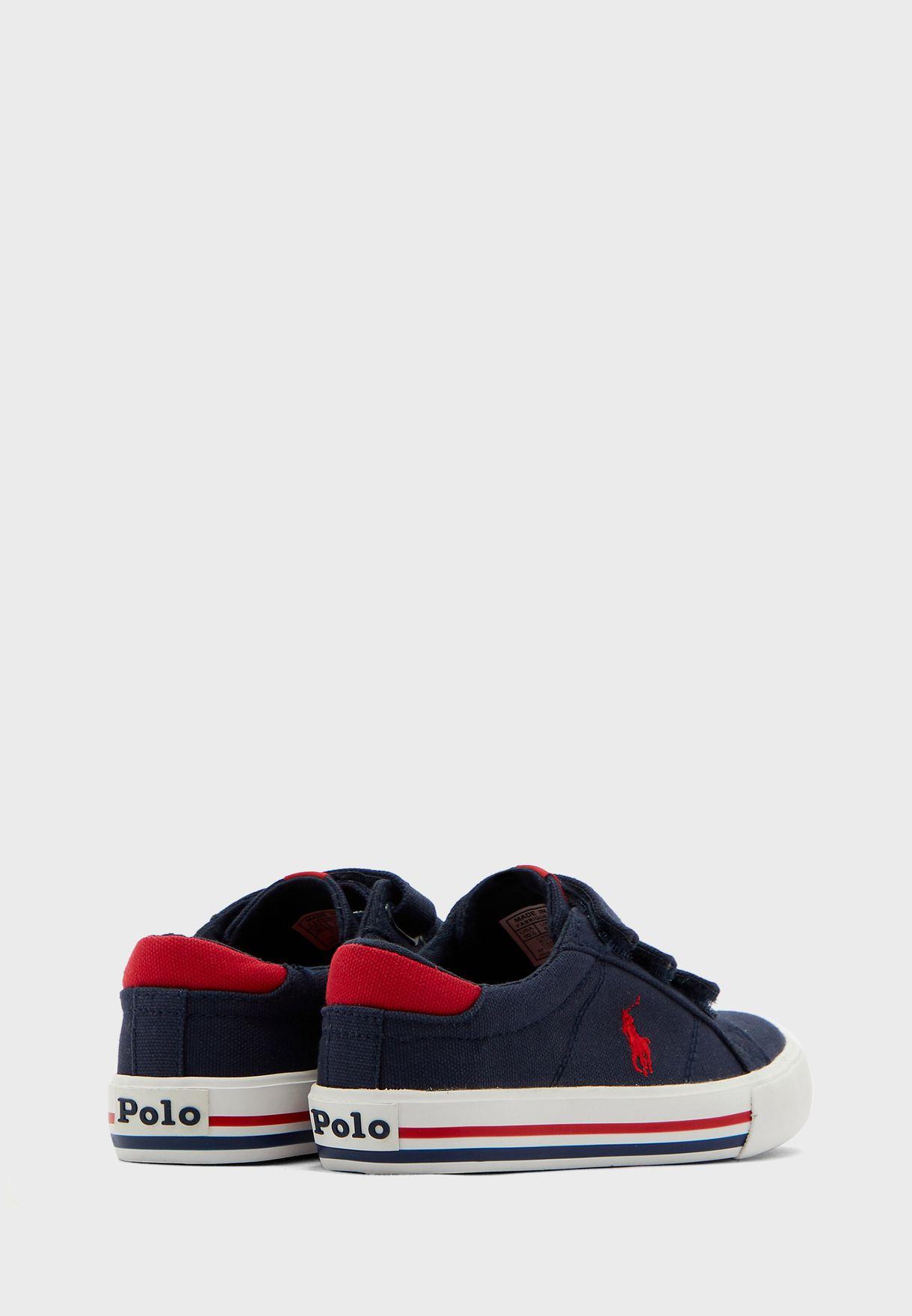 Teen Double Strap Sneaker