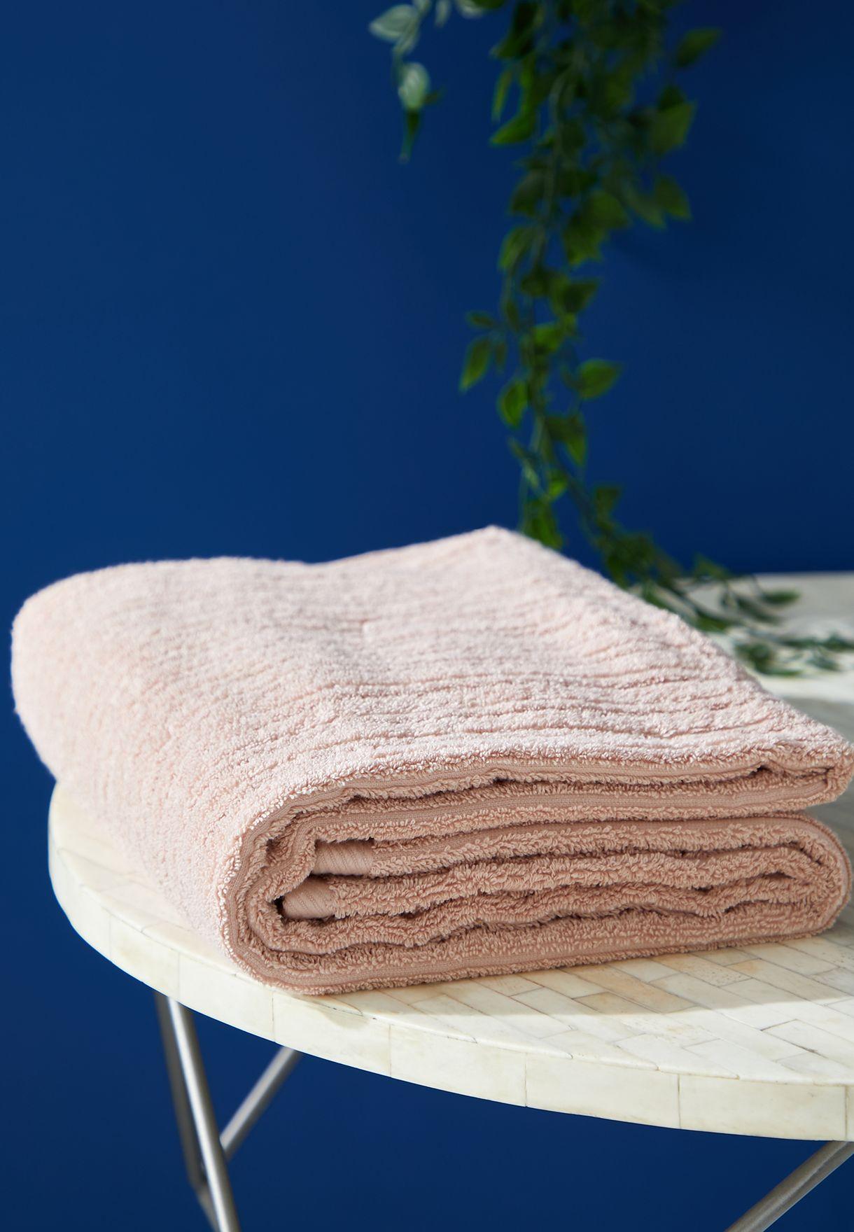 Beige Bath Towel