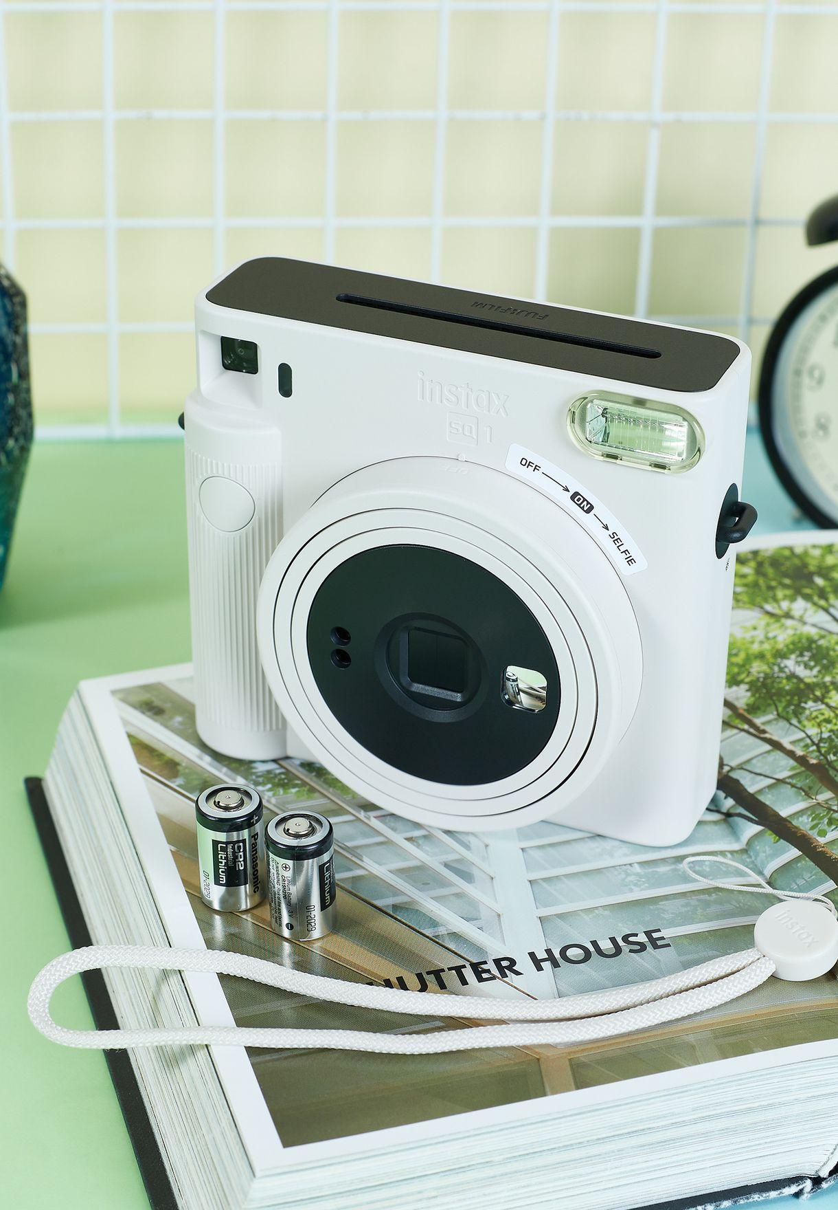 كاميرا انستاكس مربعةSq1 بلون ابيض
