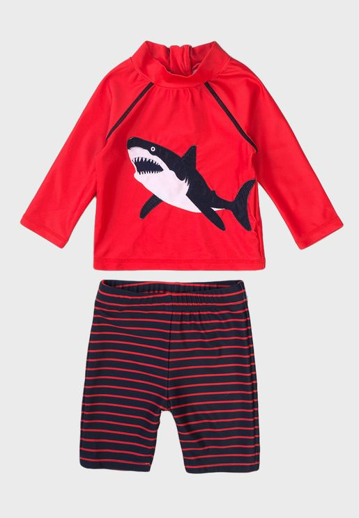 Kids Basic T-Shirt & Shorts Set