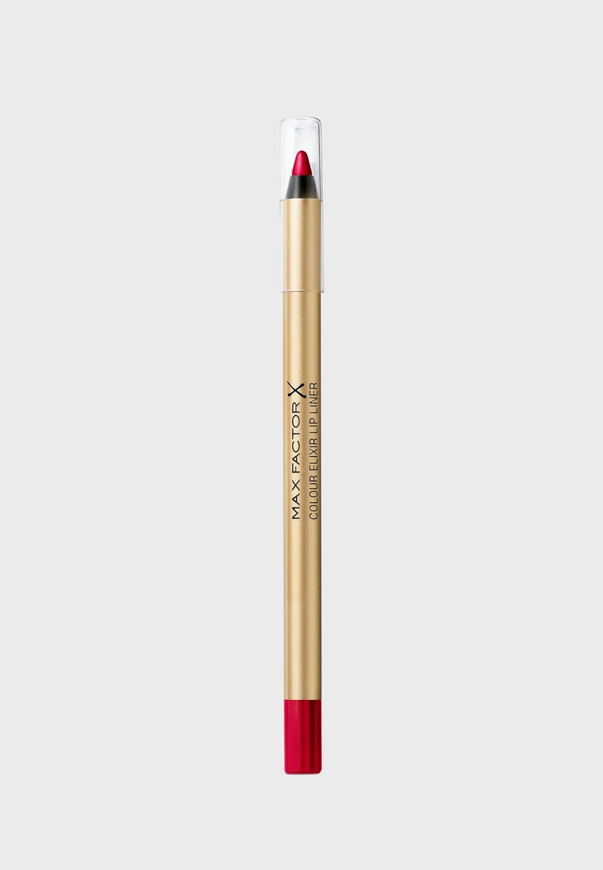 Colour Elixir Lip Liner- 12 Red Blush