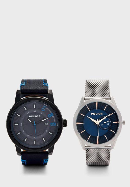 Multipack Analog Watch Gift Set