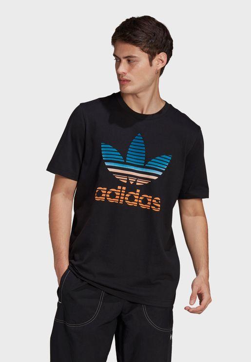 Trefoil Ombre T-Shirt