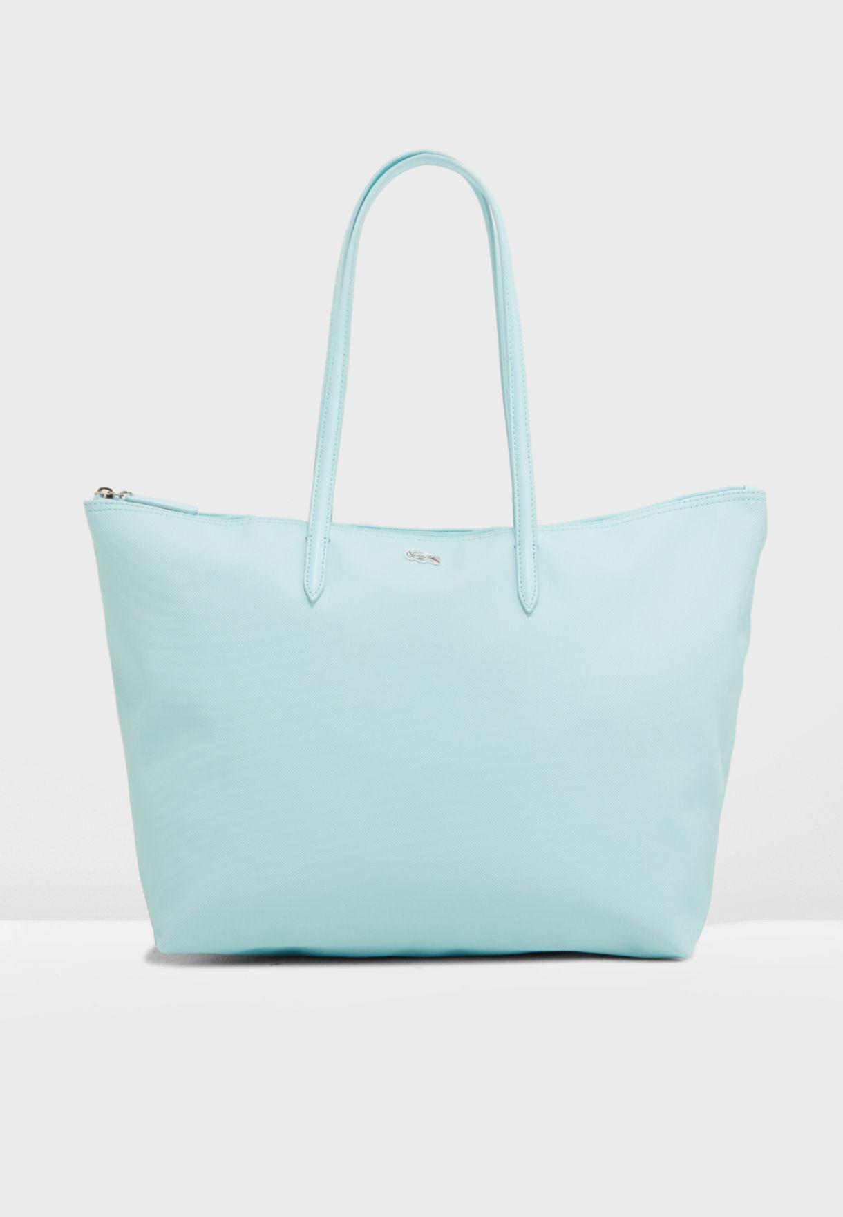 c69f85a1825 Shop Lacoste blue L.12.12 Concept Tote NF1888PO-C01 for Women in UAE ...