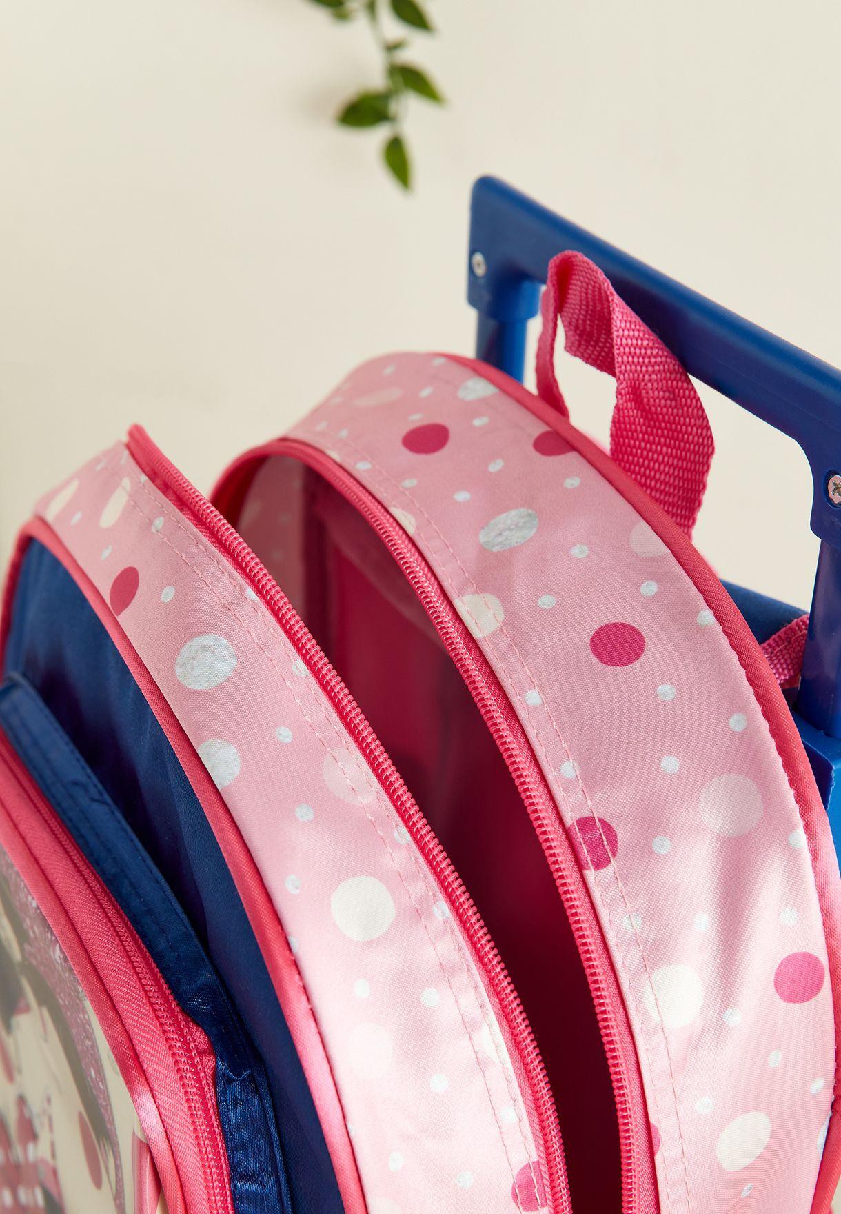 School Trolley Bag Set