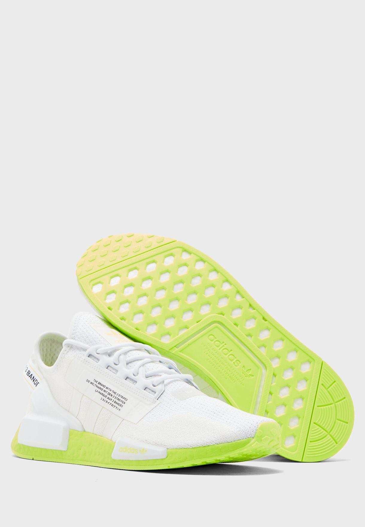 Buy Adidas Originals White Nmd R1 V2 For Men In Mena Worldwide