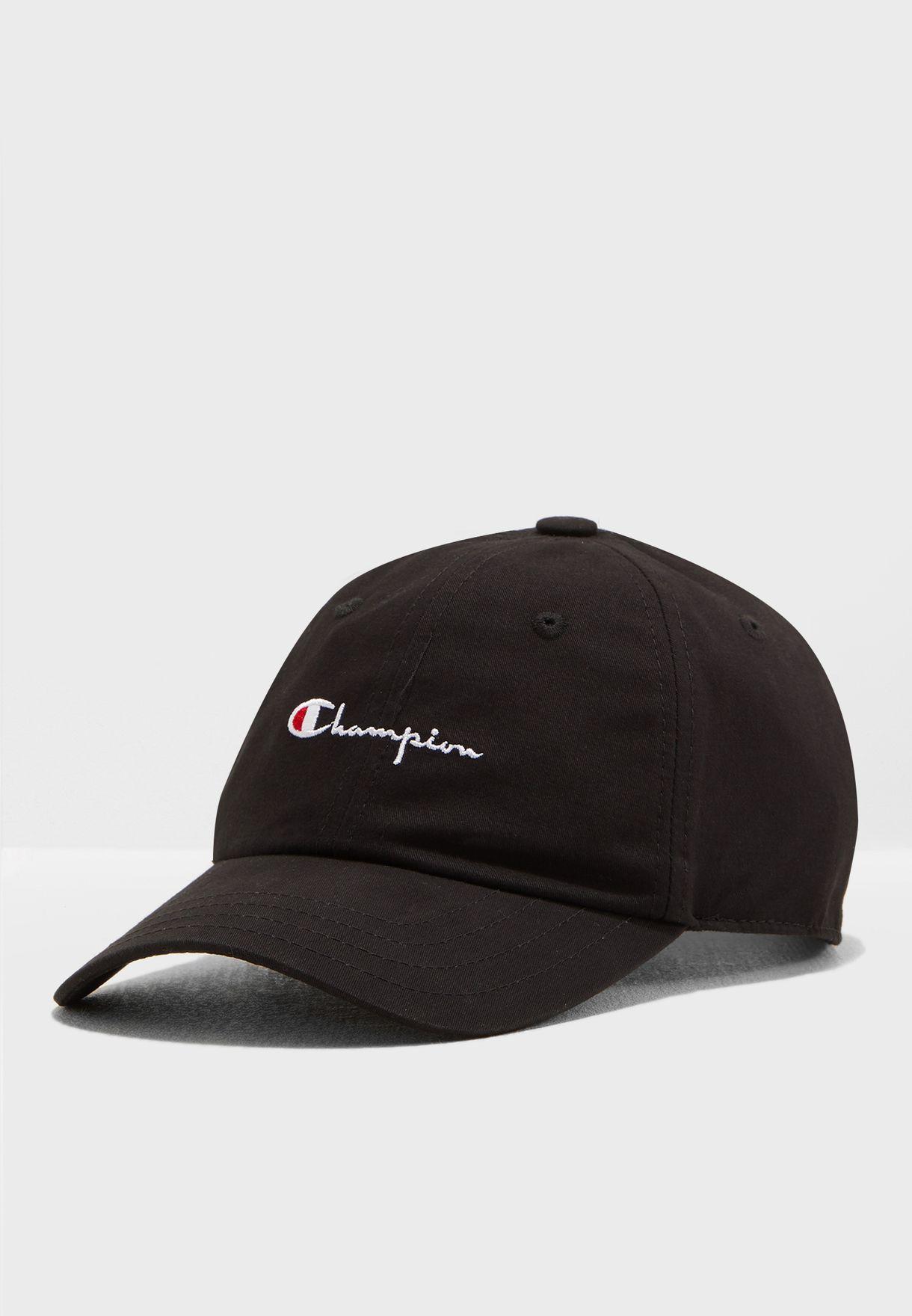 ab80ef93bffd1 Shop Champion black Baseball Cap 804549-KK001 for Men in Saudi -  13352AC82POP