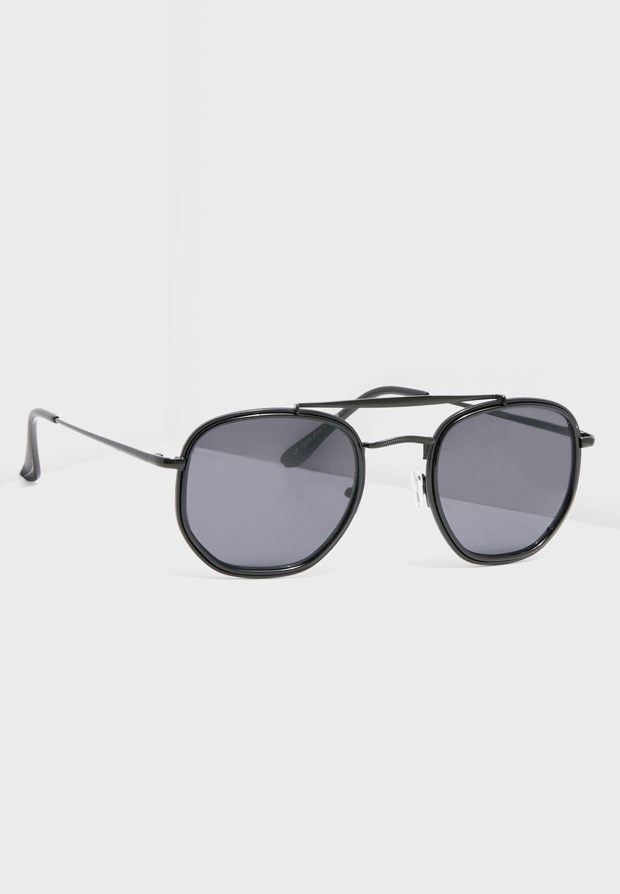 2a5a3e24e9 Shop Seventy five black Classic Square Aviator Sunglasses 7220 for Men in  UAE - 11136AC82OIP