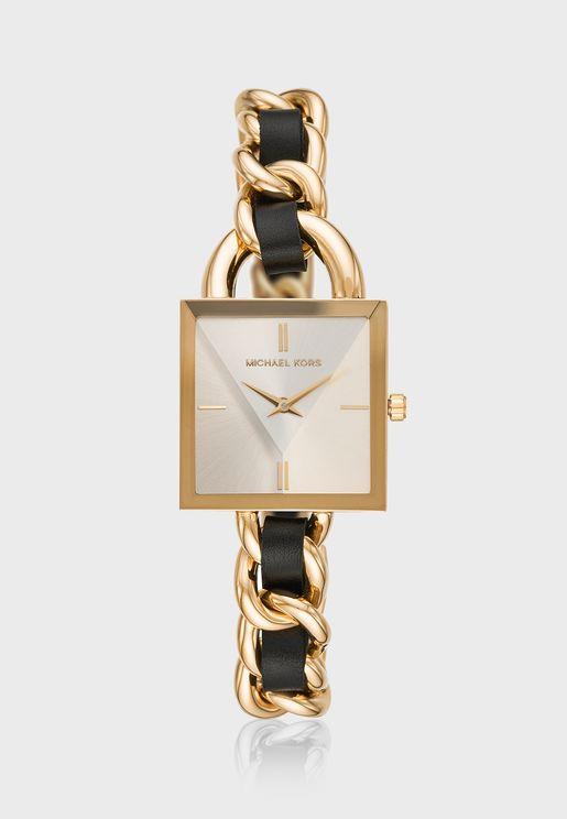 MK4445 Chain Lock Analog Watch
