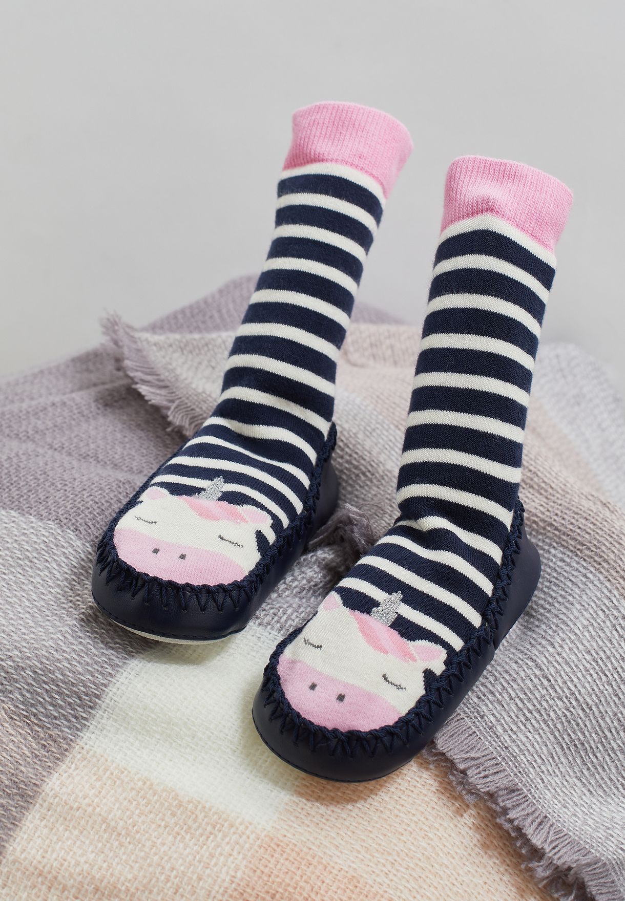 Infant Striped Socks