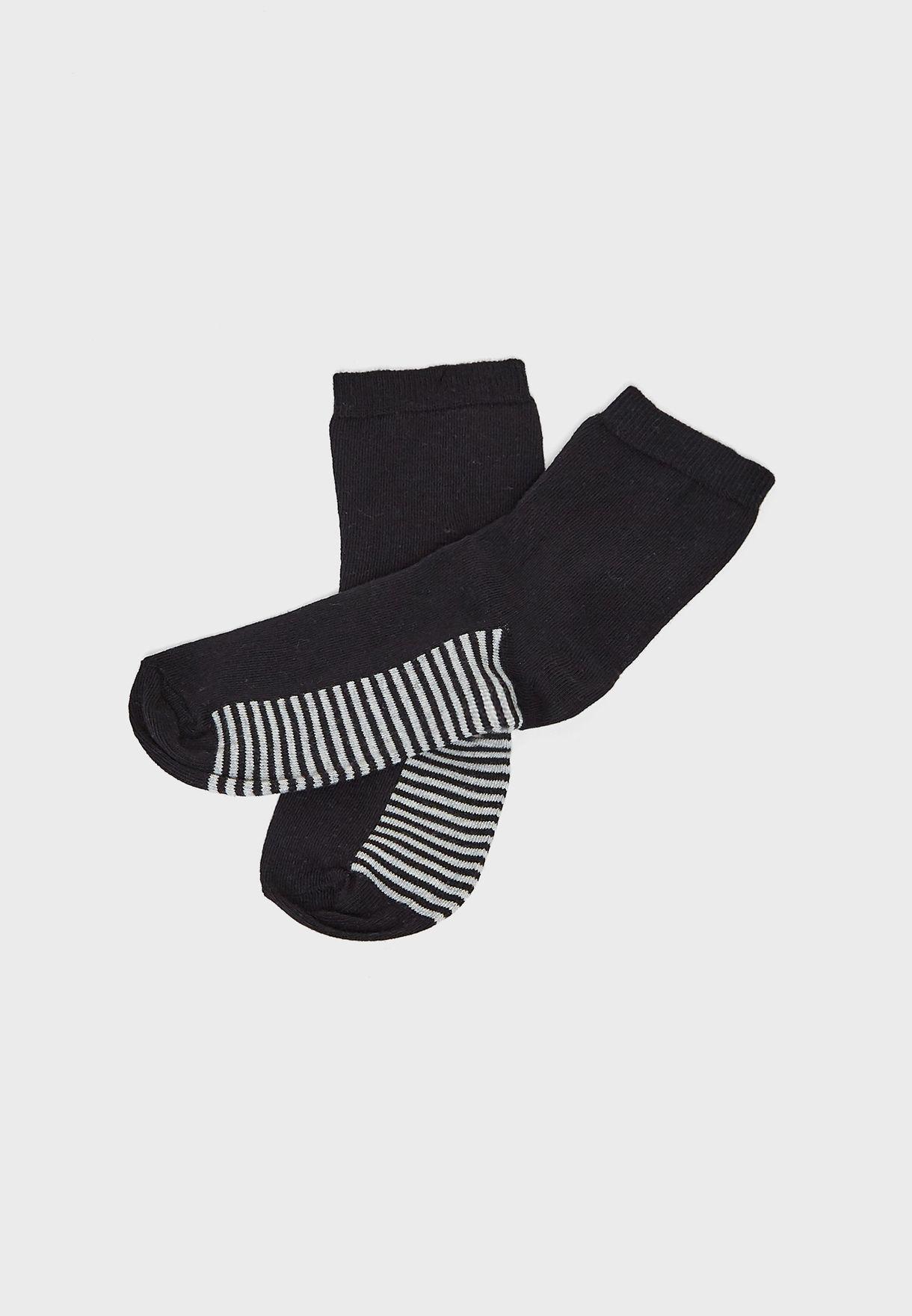 4 Pack Mixed Animal Socks