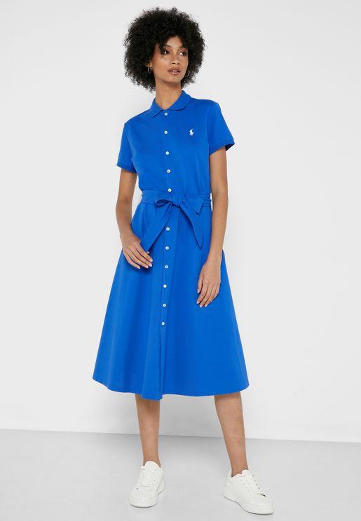 Stretch Midi Dress