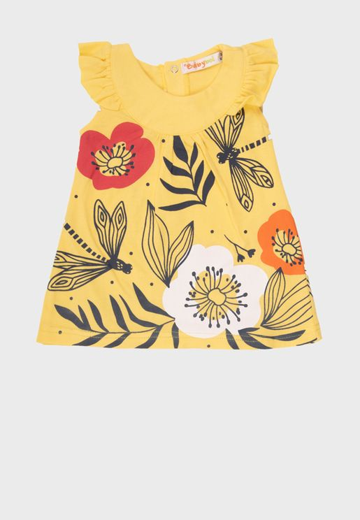 Kids Graphic Dress