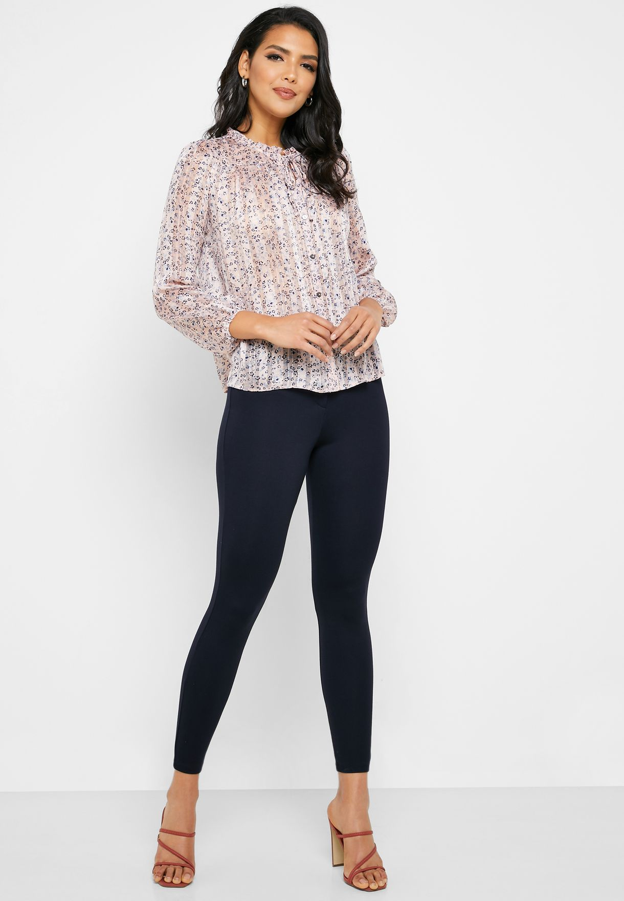 One Button Slim Pants