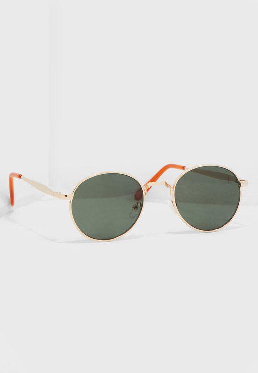 Carlos Circle Tinted Sunglasses