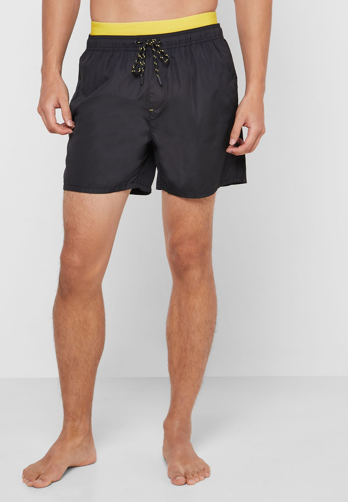Exposed Waistband Swimshort