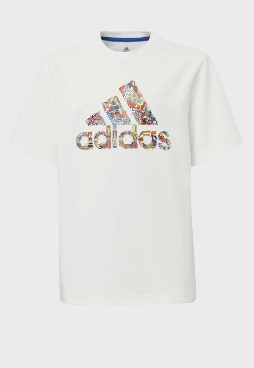 Youth Cleofus Logo T-Shirt