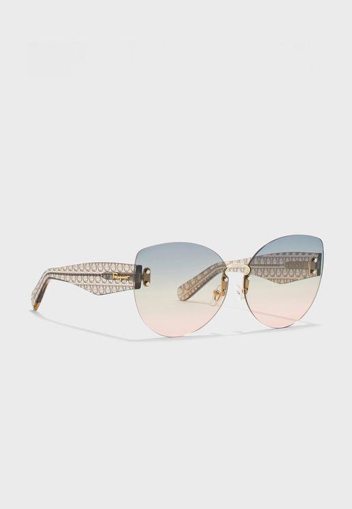 SF208S Oversized Cat Eye Sunglasses