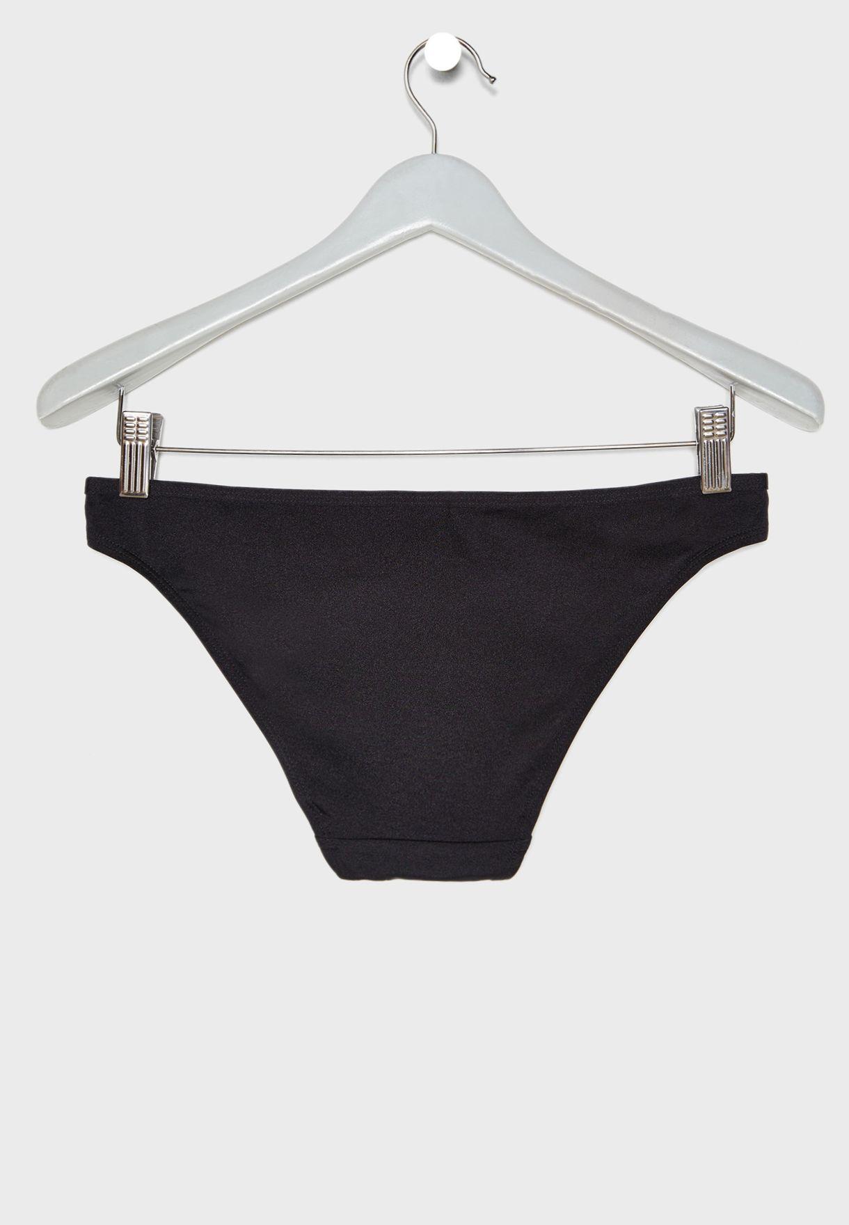 Ring Detail Bikini Bottom