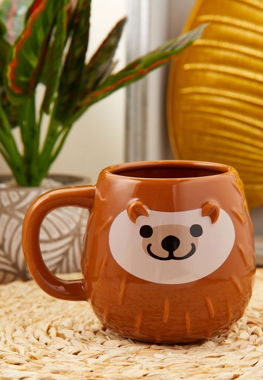 Hedgehog Shaped Mug
