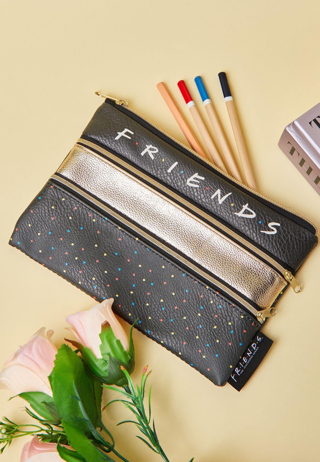 Friends Double Archer Pencil Case