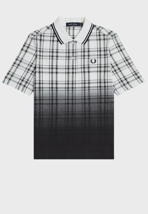 Checked Ombre Shirt