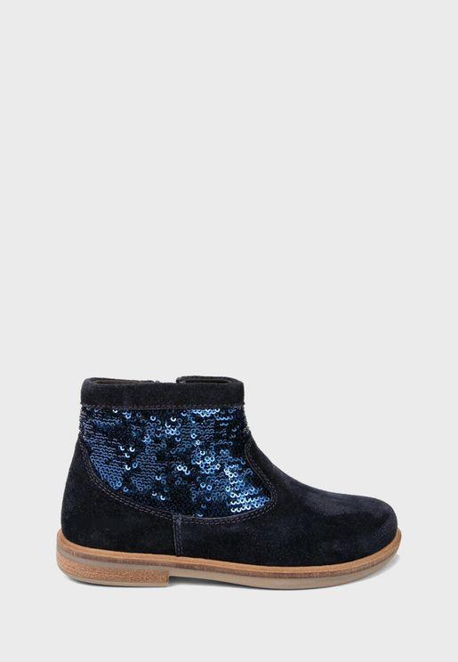 Kids Glitter Boots