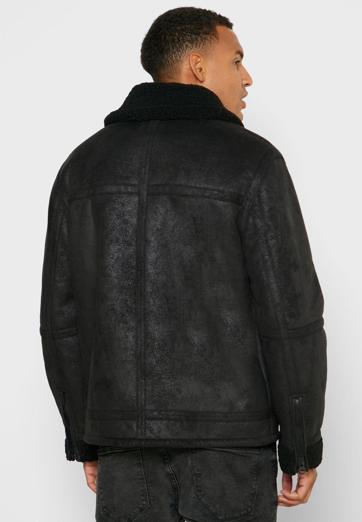 Josh Aviator Shearling Jacket
