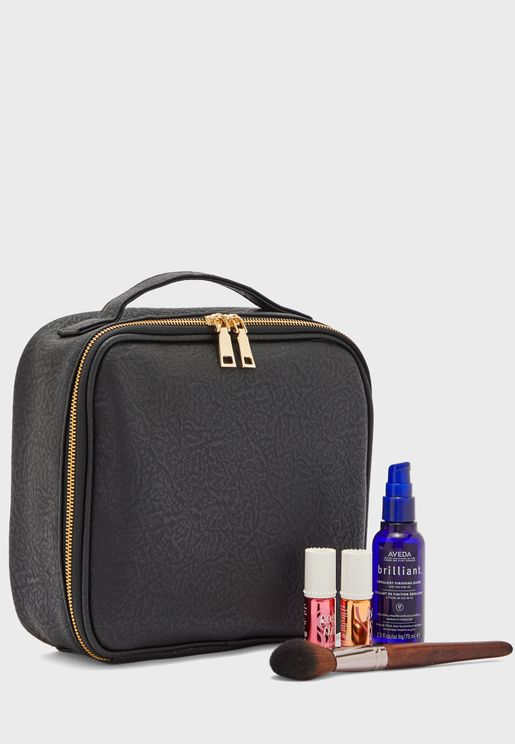Cosmetics Case with Compartments