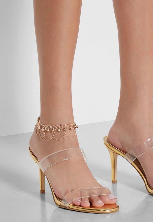 Draped Anklet