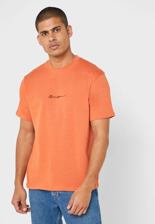 Signature Crew Neck T-Shirt
