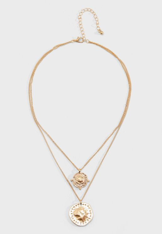 Dame Layered Necklace