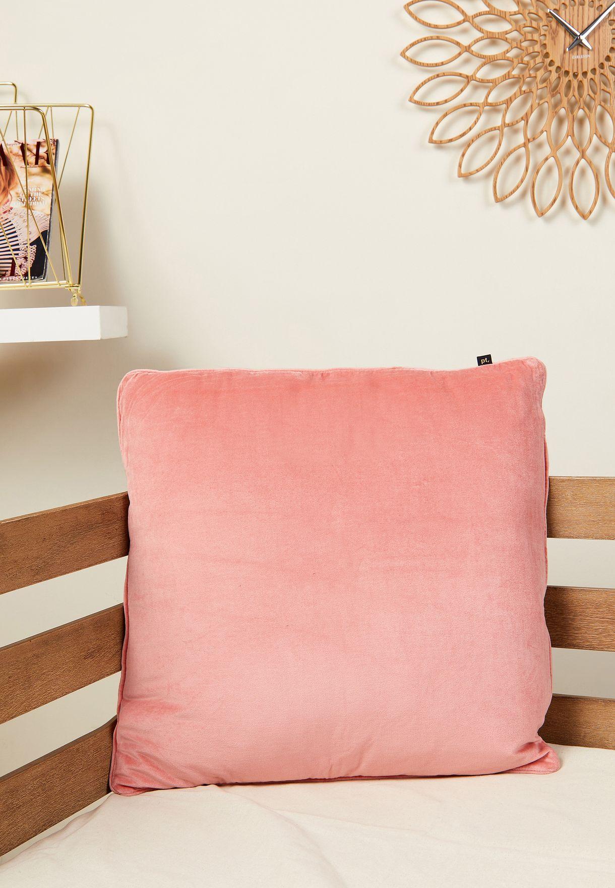 Luxurious XL Velvet Square Cushion
