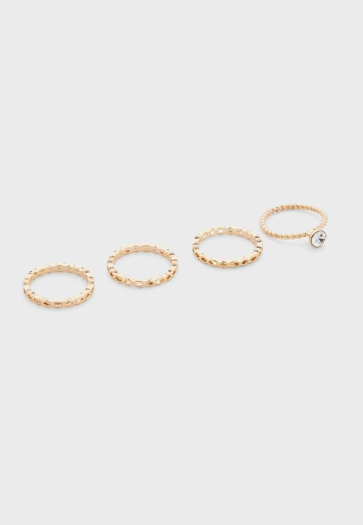 4 Pack Anne Ring