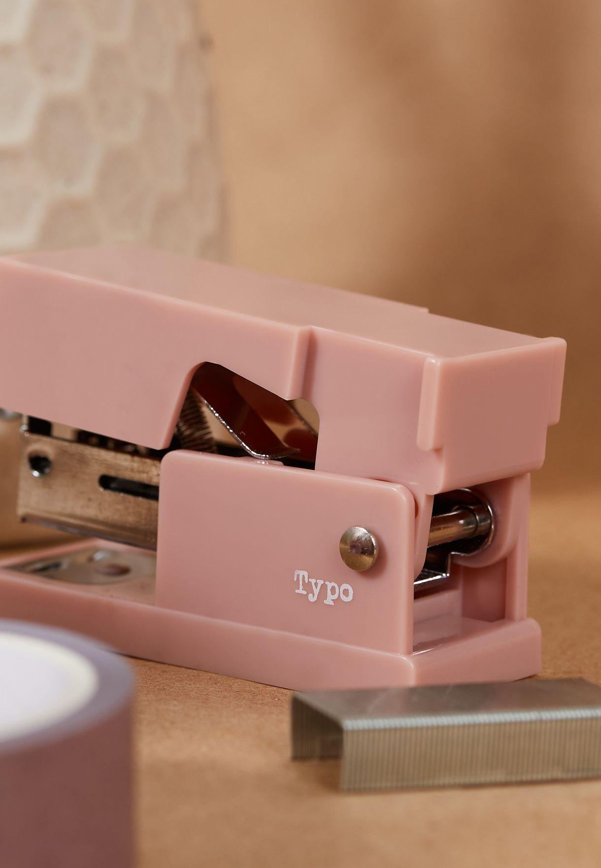 Mini Pink Stapler