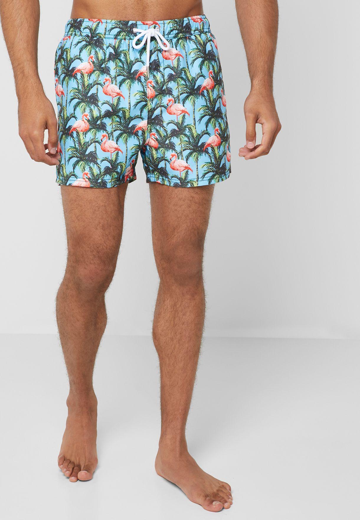 Flamingo Swim Shorts