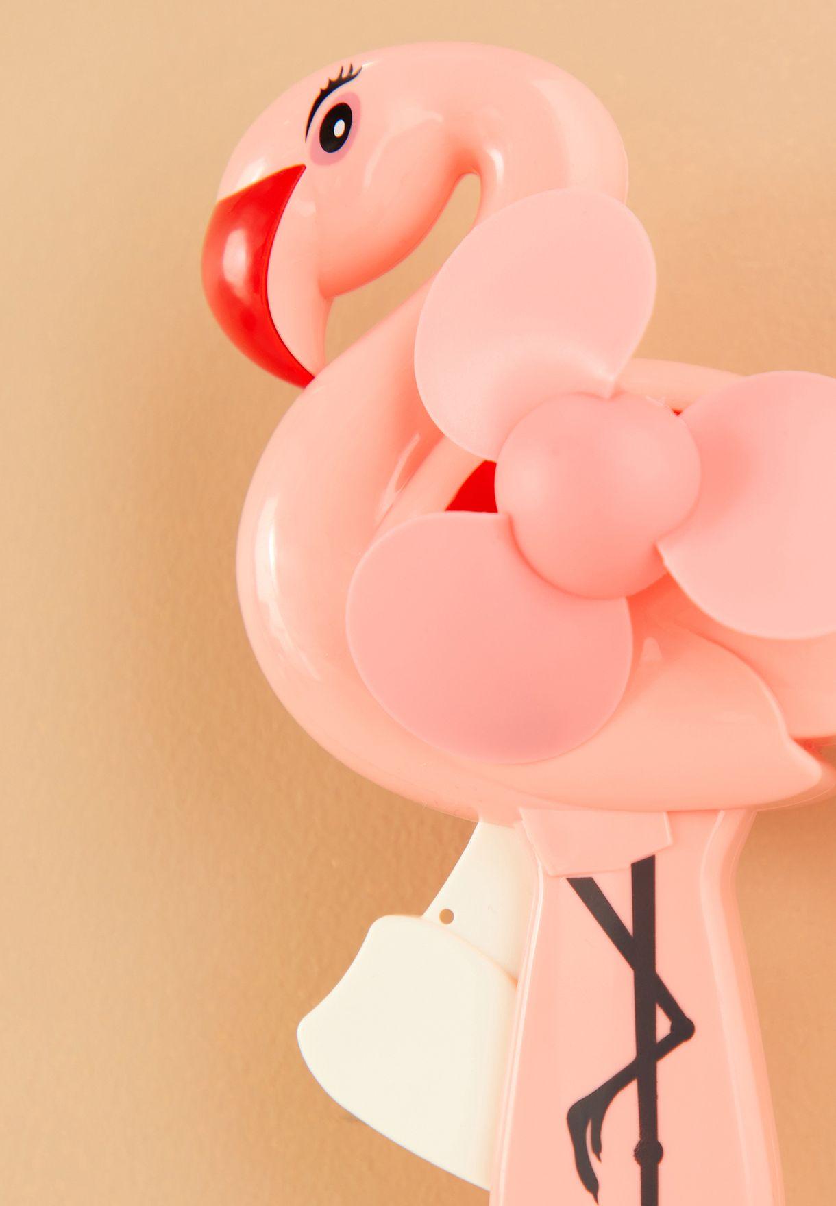 Flamingo Handheld Fan