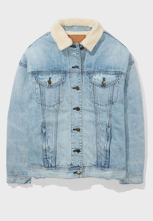 Button Down Denim Jacket