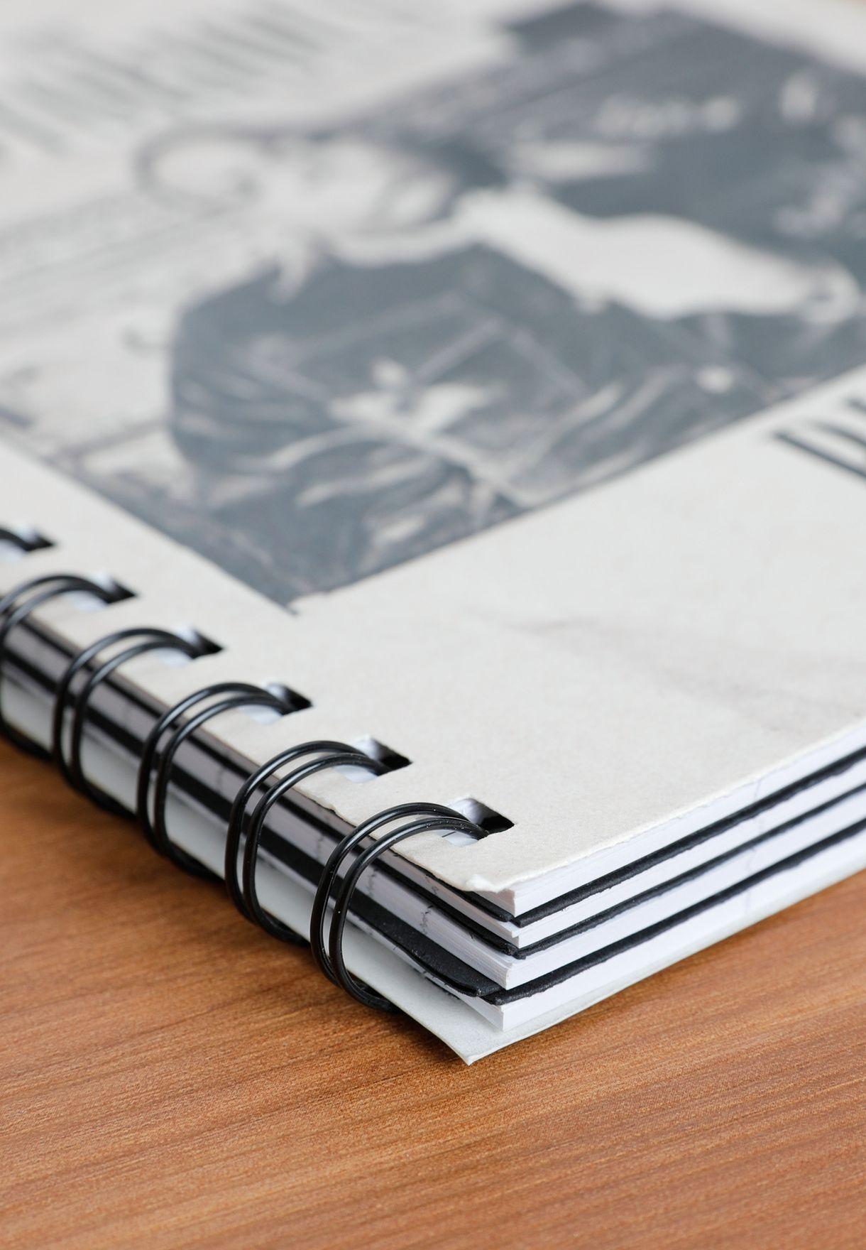دفتر ملاحظات A5 مطبع