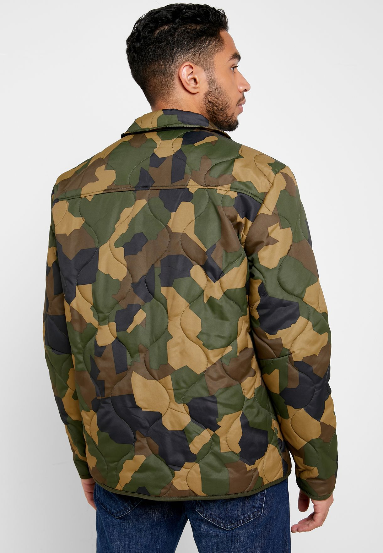 Rain Ribstop Quilted Jacket