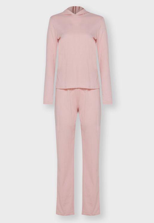 Hooded Pyjama Set