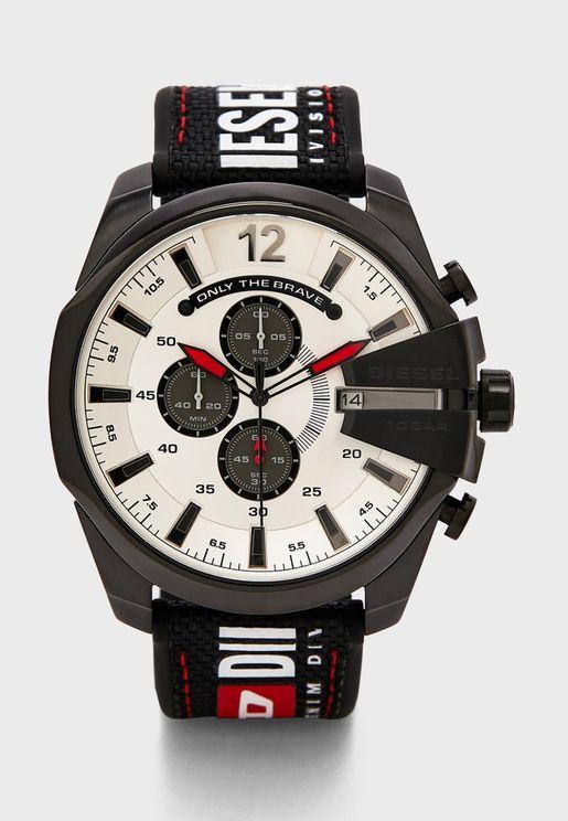 DZ4512 Three Circle Dated Watch